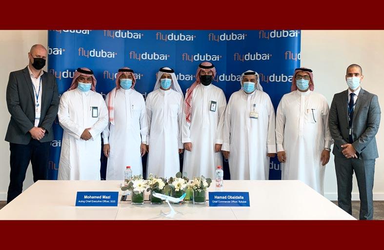 فلاي دبي والسعودية للخدمات الأرضية توقعان اتفاقية لخدمات المناولة