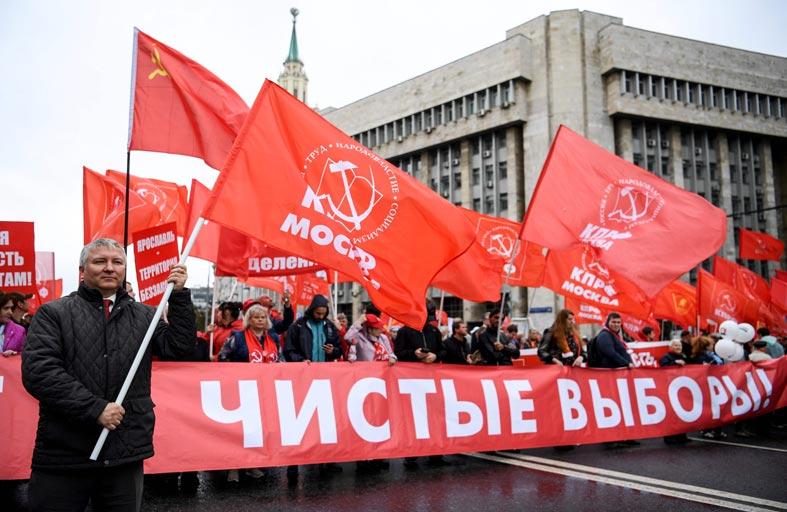 تظاهرات من أجل «انتخابات نزيهة» في موسكو