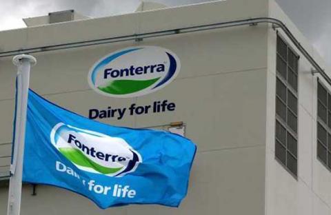 سحب منتجات (فونتيرا) للألبان في الصين