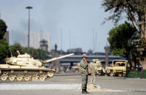 إصابة ضابط في الجيش المصري بالرصاص