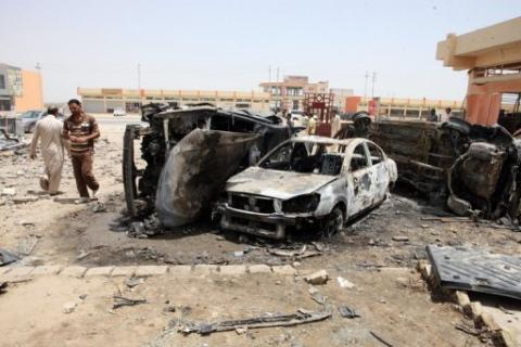 ارتفاع عدد ضحايا تفجيرات العراق