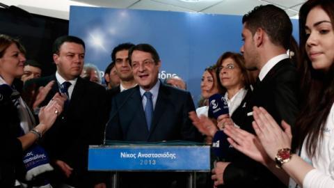 أناستاسياديس يفوز بالرئاسة القبرصية