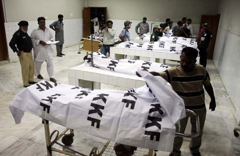 قتلى واعتقال مشتبهين في أعمال عنف بكراتشي