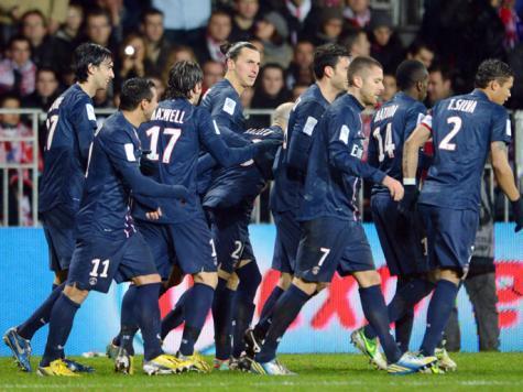 سان جيرمان بطلاً لذهاب دوري فرنسا