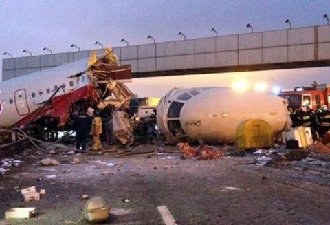 روسيا تحقق في تحطم طائرة التوبوليف