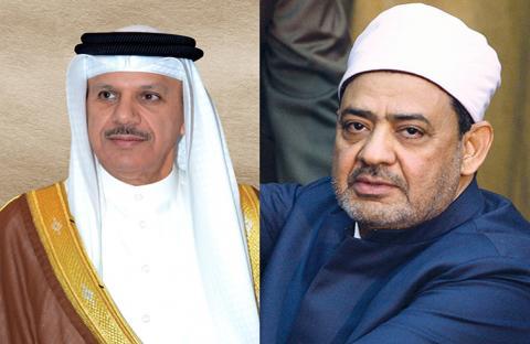 شيخ الأزهر وأمين مجلس التعاون  يحاوران رواد منتدى الإعلام العربي في دبي
