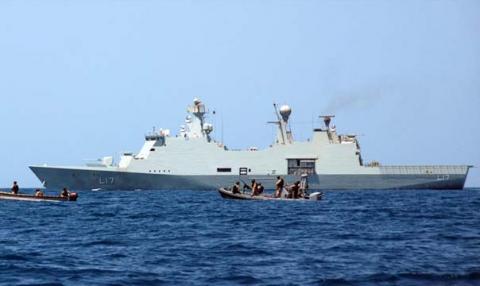 قراصنة صوماليون يفرجون عن طاقم سفينة دنماركية