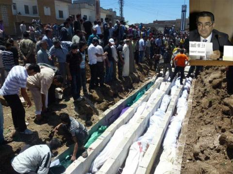 الزعابي يندد بعمليات العنف التي ارتكبتها قوات الحكومة السورية وميليشياتها