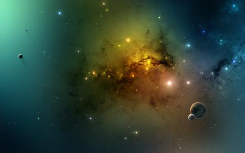 اكتشاف أضخم مجرة في الكون