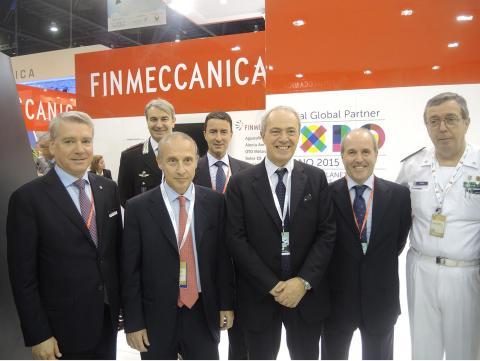 فينميكانيكا تعرض أحدث صناعات الدفاع الإيطالية في آيدكس