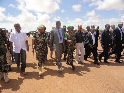 الحكومة الصومالية تفتح حواراً مع كيسمايو