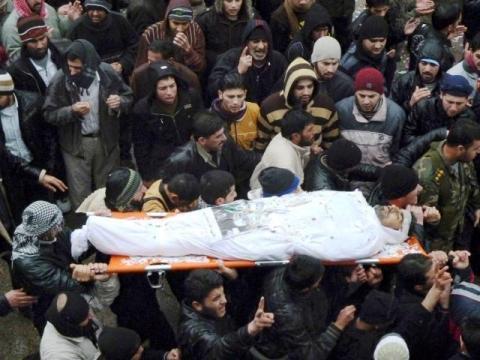 مقتل سوري أثناء فراره للأردن