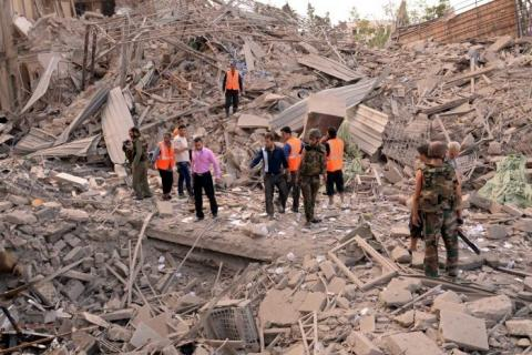 المستشفيات الميدانية.. مأوى علاجي في حلب