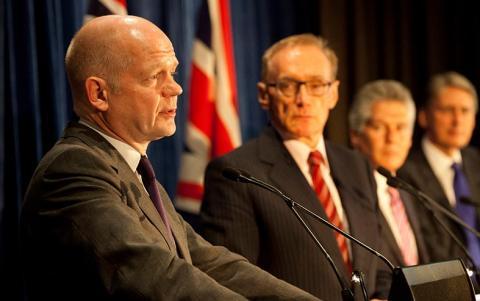 هيغ يطالب وزراءه بعدم مناقشة غزو العراق