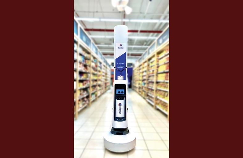كارفور تعين المزيد من روبوتات تالي في فروعها في الإمارات