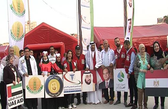 قوافل زايد الخير تستأنف مهامها الإنسانية في القرى المصرية