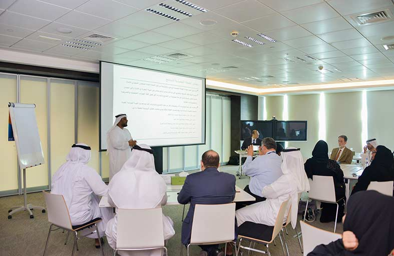 بيئة أبوظبي تعقد الاجتماع الأول لمجموعة عمل  تطوير نظام متكامل لمراقبة جودة المياه البحرية