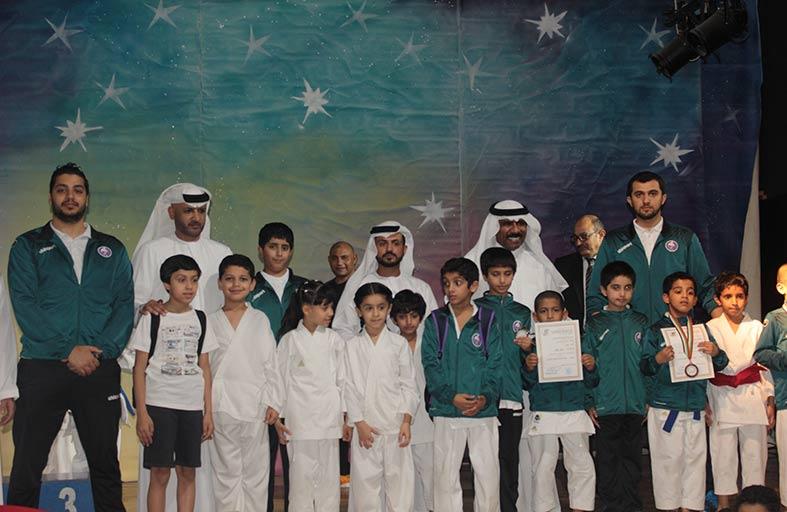 رئيس اتحاد الإمارات للكراتيه  يشيد بفريق نادي الذيد للكاراتيه