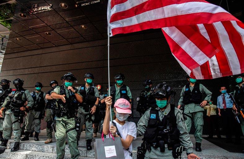 أبناء هونغ كونغ يلتفون على قانون الأمن بالابتكار