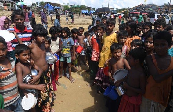 الجوع سلاح حرب ضد الروهينغا في بورما