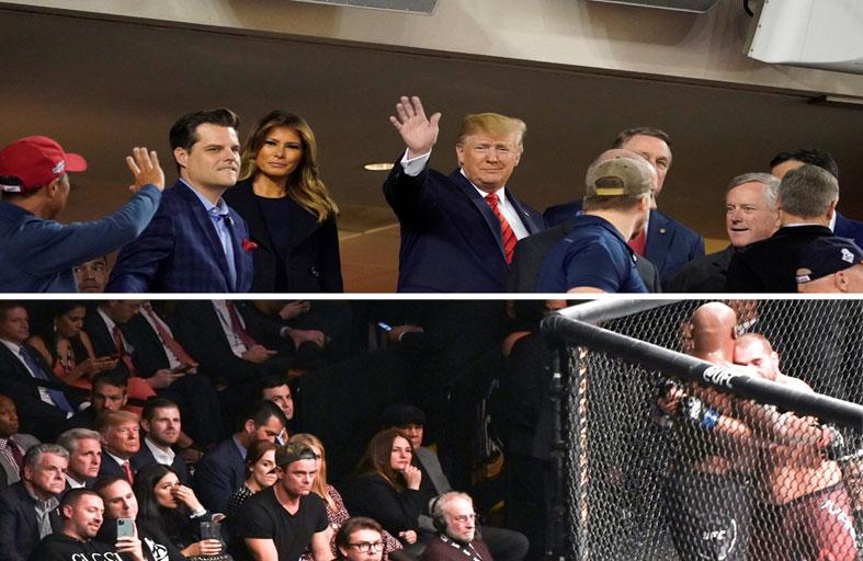 دونالد ترامب والرياضات الشعبية الأمريكية...!