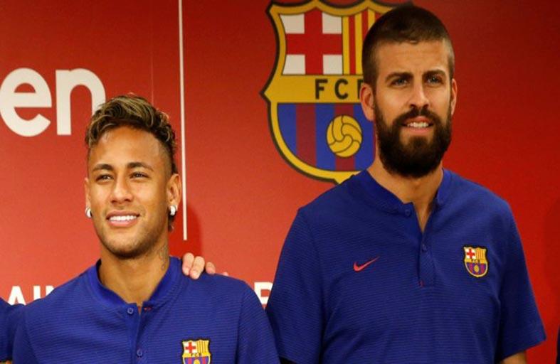 بيكيه مقتنع ببقاء نيمار في برشلونة