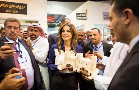 الملكة رانيا: الأردن يتميز  بمقومات سياحية متنوعة وكرم ضيافة أهله