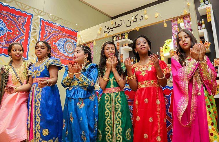 """مؤسسة دبي للإعلام تحتفل مع الأطفال بفعالية """"حق الليلة"""""""