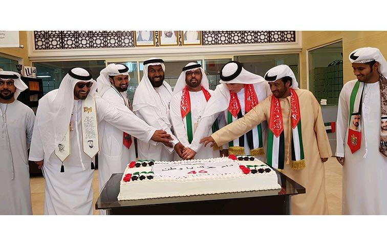 الفوعة تحتفل باليوم الوطني بمشاركة القيادات الإدارية والعاملين