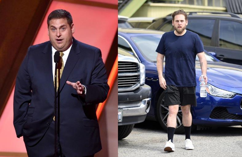 جونا هيل يثير جدلاً  بسبب فقدان وزنه