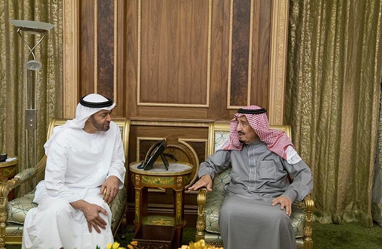 محمد بن زايد يؤكد على دور الإمارات والسعودية في حفظ أمن واستقرار المنطقة والتصدي للتدخلات الإقليمية