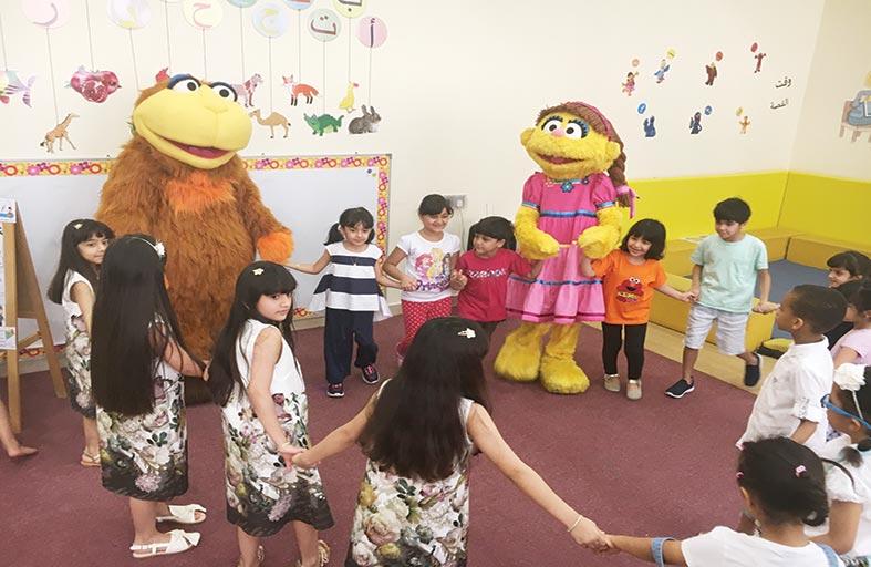 ورش عمل  للأطفال حول مبادرة التمكين المالي