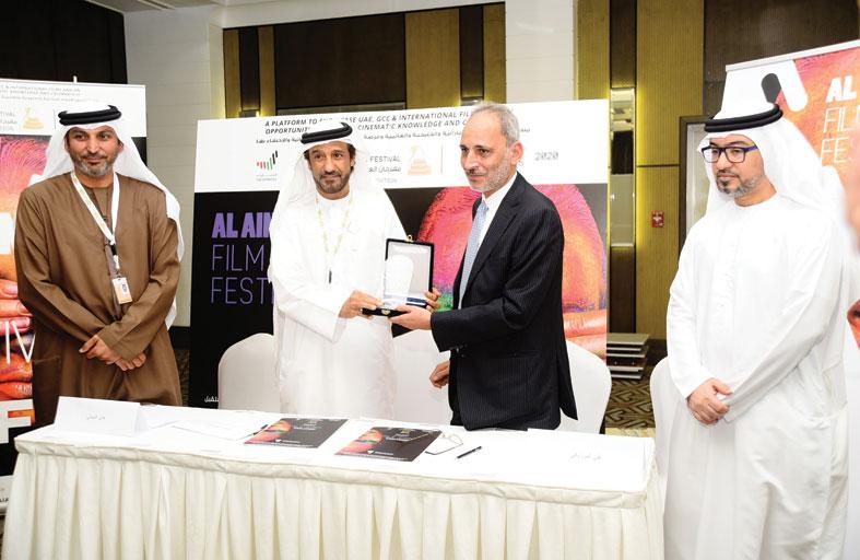 توقيع اتفاقية تعاون مشترك بين مهرجان العين السينمائي ومعهد السينما المصري