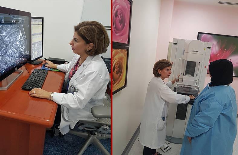 الخدمات العلاجية تبدأ برنامج الفحوصات المجانية للكشف المبكر عن سرطان الثدي و لمدة شهرين