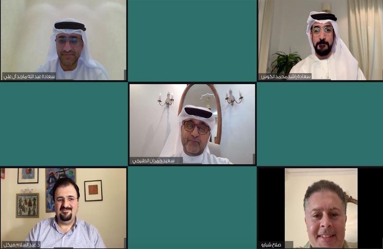 جائزة الشيخ زايد للكتاب تستضيف جلسة نقاشية افتراضية بعنوان (نحو بناء مجتمع معرفي افتراضي)
