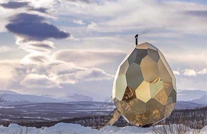 بيضة تصبح وجهة جذب سياحي