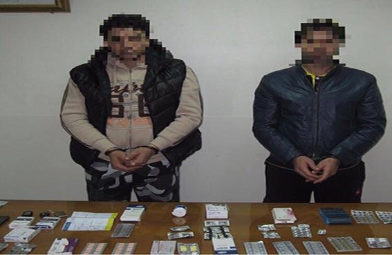 عصابة شياطين الموت في قبضة شرطة رأس الخيمة
