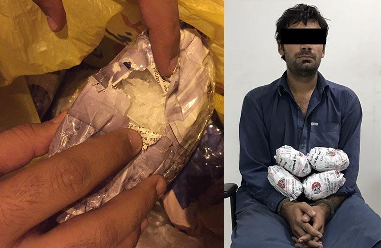 الإدارة العامة لجمارك أبوظبي تحبط محاولة تهريب لـ 2 كلغ من المواد المخدرة عبر منفذ الغويفات الحدودي