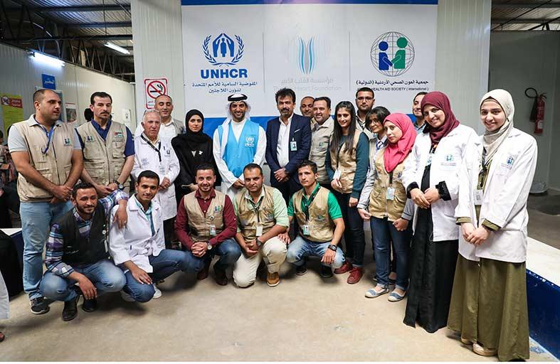 الشارقة للإعلام تتبرع بثلاثة ملايين درهم لعلاج اللاجئين السوريين في مخيم الزعتري بالأردن