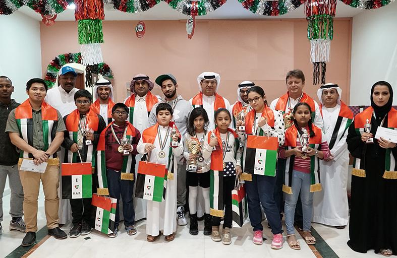 كشواني يُتوج بلقب بطولة اليوم الوطني للشطرنج الخاطف في أبوظبي