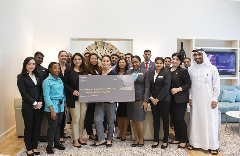 تايم للفنادق تدعم مستشفى سرطان الأطفال في مصر وجمعية الإمارات للطبيعة