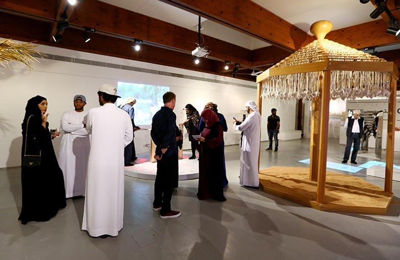 استكشاف الألعاب الشعبية الإماراتية برؤية فنية معاصرة