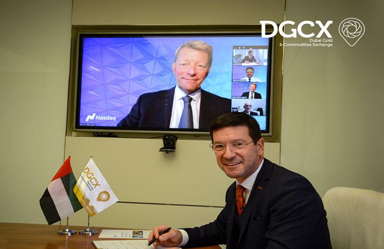 اتفاقية بين ناسداك وبورصة دبي للذهب والسلع في مجال تقنيات أسواق المال