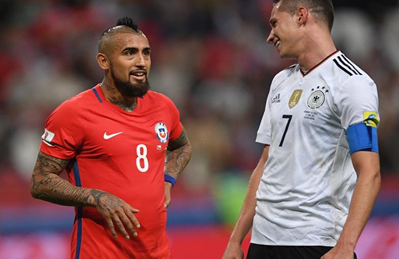 المانيا وتشيلي على أبواب نصف النهائي
