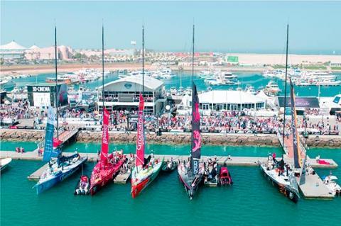 بمشاركة فريق أبوظبي للمحيطات مجدداً .. أبوظبي تستضيف مرحلة توقف سباق فولفو للمحيطات في ديسمبر 2014
