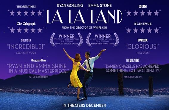 رايان غوسلينغ: قصة La La Land تعكس جزءاً من حياتي