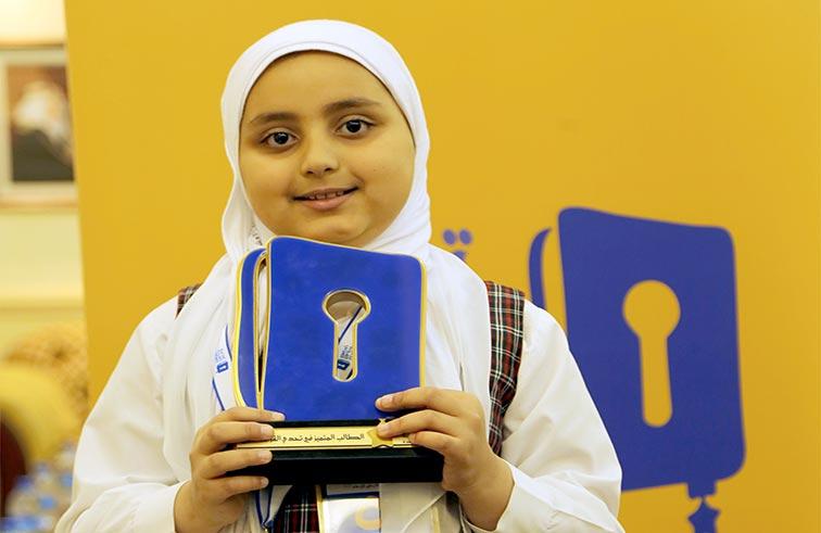 عائشة بديع بطلة تحدي القراءة العربي في البحرين