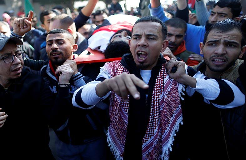المواجهات الفلسطينية تقلق جيش الاحتلال الإسرائيلي