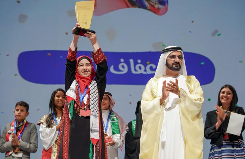محمد بن راشد: قوة الحرف والكتاب والقراءة تصنع الحضارة