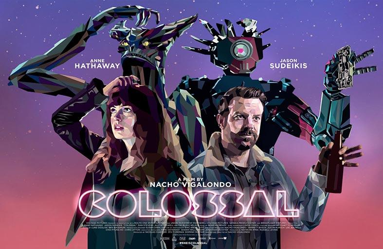 Colossal...  يتحول من فيلم تقليدي عن الوحوش إلى رواية فائقة ومؤثرة